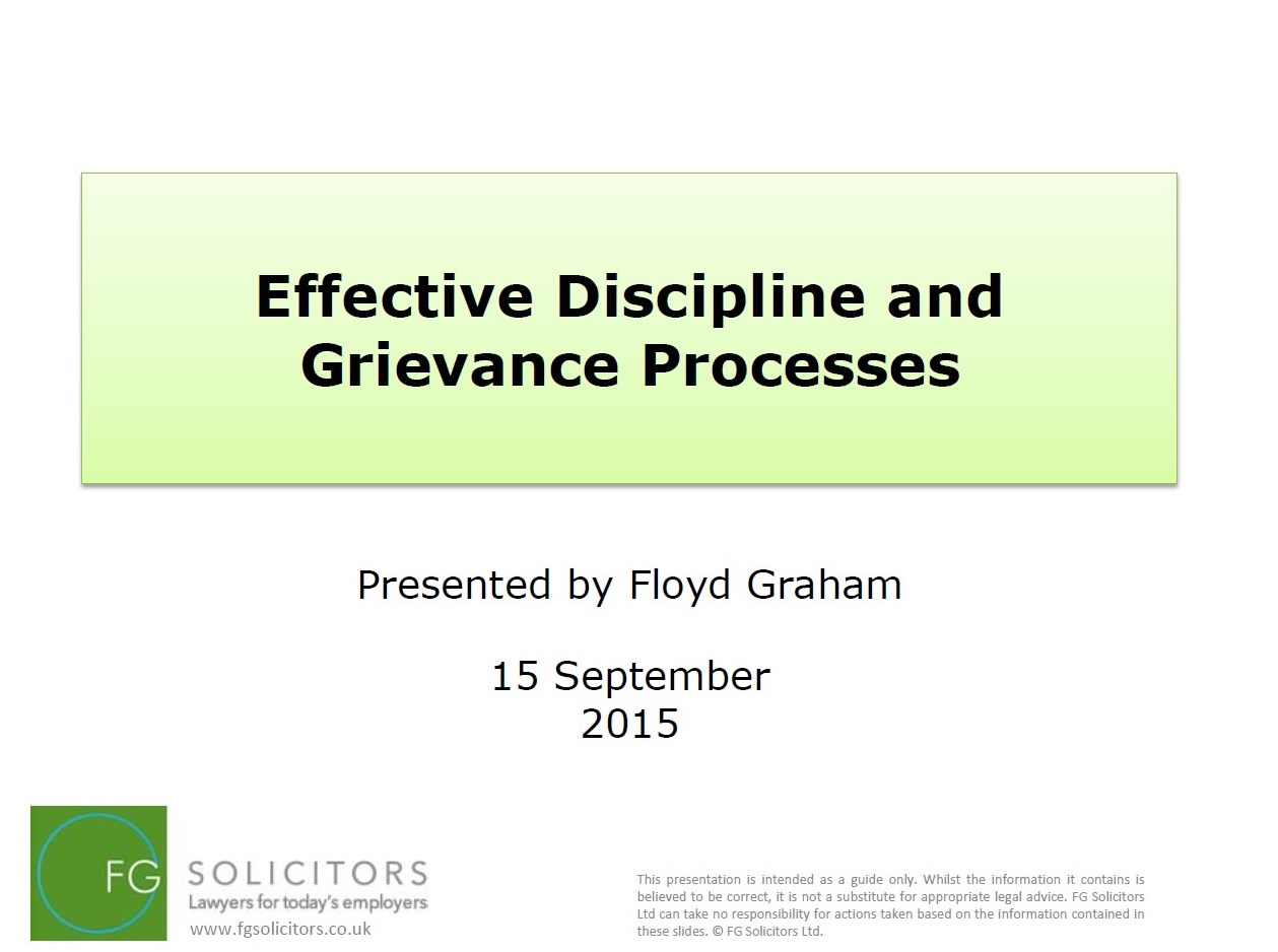Effective discipline for children