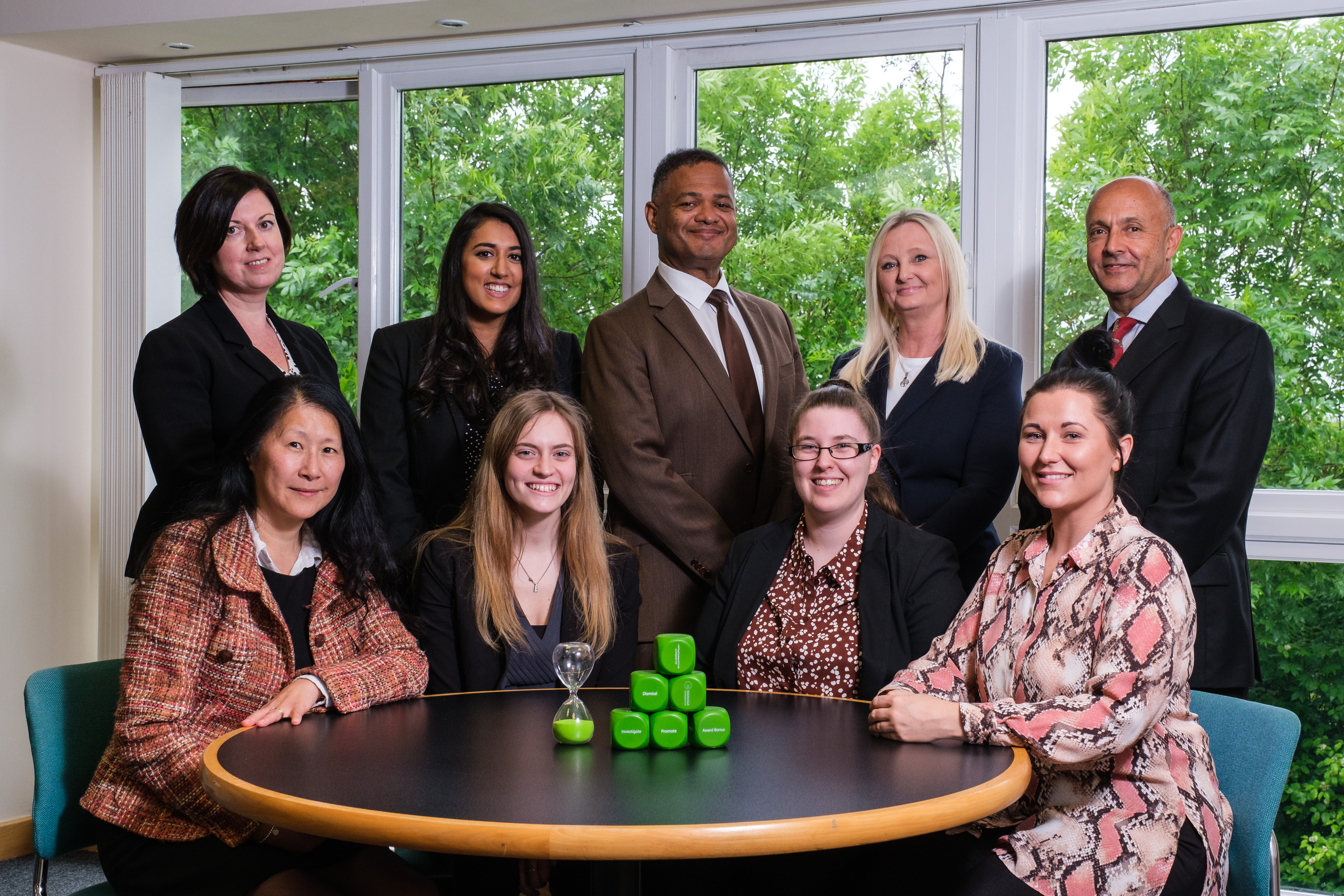 A picture of the team at FG Solicitors